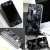 3D Diamond Anti Glare Fullbody Screen Protector Guard For iPhone 4 4S