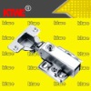 Nickel plating straight hydraulic hinge