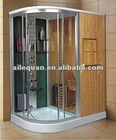 (801) russia white pine home combined sauna steam room