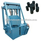 High efficiency honeycomb briquette machine