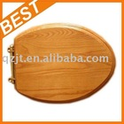19'' wooden elongated toilet seat