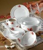 opal glass dinnerware set-42pcs