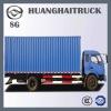 DD5163XXYBCP1 4x2 Blue Hydraulic Truck for Export