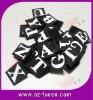 Pretty Nylon Velcro Letter Printed Logo