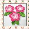hand apparel crochet flower