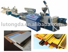 PVC decorative lines and pinch extrusion line