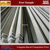 hot rolled and pickled stainless steel AISI 304 angle bars