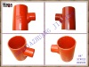 EN877 cast iron pipe fitting 88DGR single branch