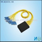 Fiber optic 2x32 plc splitter