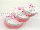 wholesale pink round Jewelry Box