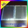 Amazing design!!!2012 newest 3D diamond screen protector for ipad2