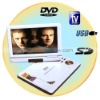 Drop Shipping 9 Inch Portable 270 degree LCD DVD Player
