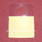 plastic adhesive hang tab