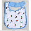 Organic Infant Bib with cute printing