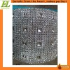 hot sale plastic trimming lace garment trim rhinestone trimming