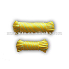 16strands hollow braided pe rope