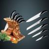 6pcs Stainless steel kitchen knife set