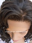 fashion human hair lace front wig