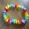 party supplies hawaiian silk flower lei
