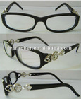 reading glasses acetate frames with rhinestone