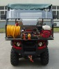 fire fighting ATV FATV500 with water mist extinguisher