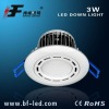 Down lighting 3w LED China LED manufacturer