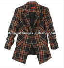 Black and Brown Checked Jacket