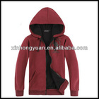 Mens casual pullover with hoodies