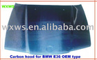 Carbon hood for BM* E46 OEM type