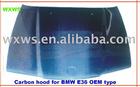 Carbon hood for BM* E46 OEM type