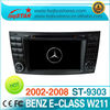 Car DVD GPS for Mercedes Benz W211/ CLS350,CLS500,CLS550 with HD touch screen radio ipod bt tv canbus steering usb sd slot...