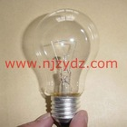 E27 clear incandescent bulb