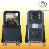 2.4inch LCD screen home alarm system self recording camera