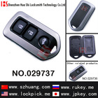 High quality key case/key casing/key cover/Auto 3 button remote key shell for toyota/029737