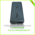 Hot sell Dual core android 4 0 mini pc,google tv box with Wifi,google android 4.0 tv box,android 4 hdmi dongle