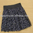 Lace Covered business formalSkirt