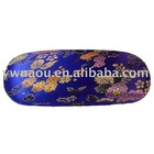high quality brocade eyeglass case