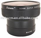 Camera Lenses--52mm 0.25X FishEye Wide Angle Converter for Nikon Canon