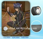 laptop desk fan mouse pad,usb multimedia mouse pad,plastic mouse pad