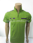 zipper collar trendy polo t shirts