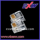 plug socket 6P6C RJ11 RJ12