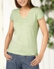 ladies lurex t-shirt