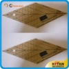 Diamond acrylic measuring ruler