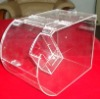 clear plastic candy box