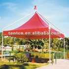 Red Sunshade Gazebo Gala Tent