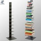 Metal Array Silver Bookcase