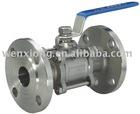 ball valve ( Flange ball valve)