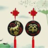 Chinese zodiac sheep activated carbon for car hanging