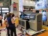 0.85 M * 1.22 m uv led flatbed printer of five color