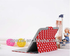 Dot leather case for ipad mini,card can be inserted IPMC-9
